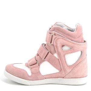 Modern Vice Capri Suede wedge sneaker. New in box